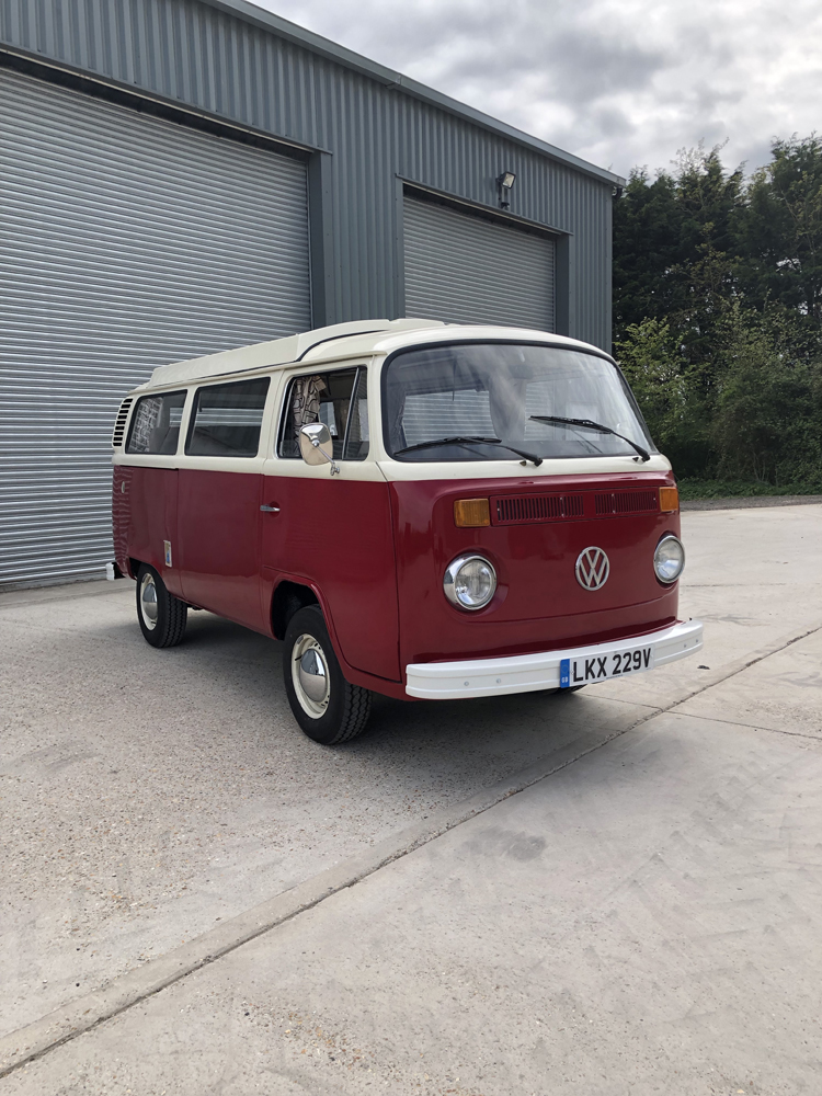 VW t2 Camper - Before