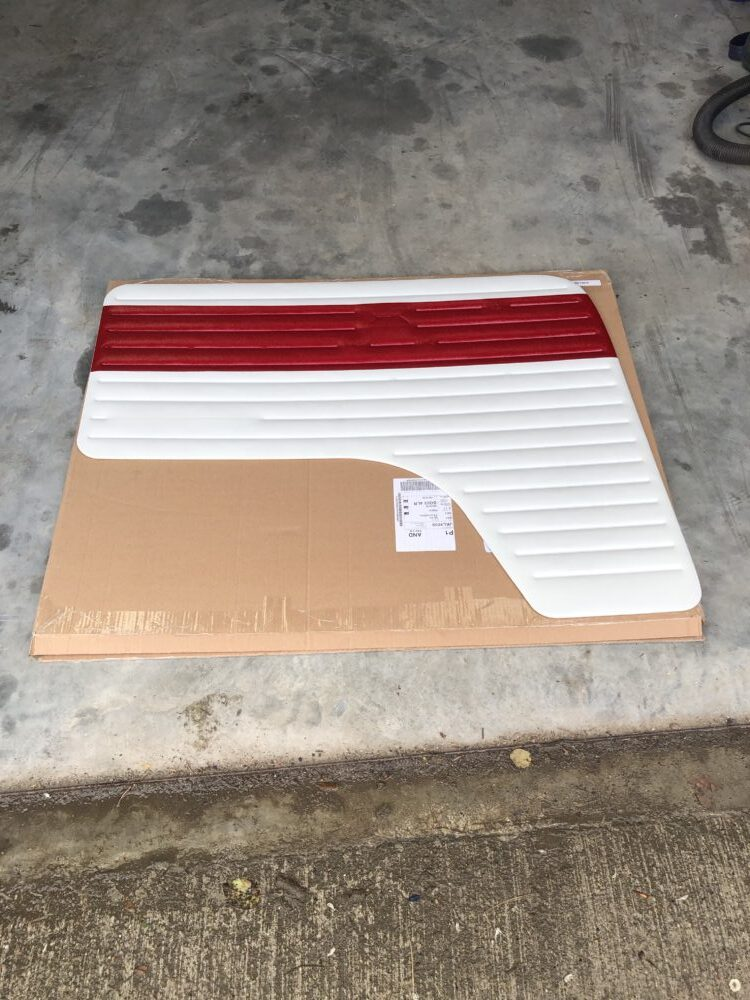 Vw T2 Door cards painting