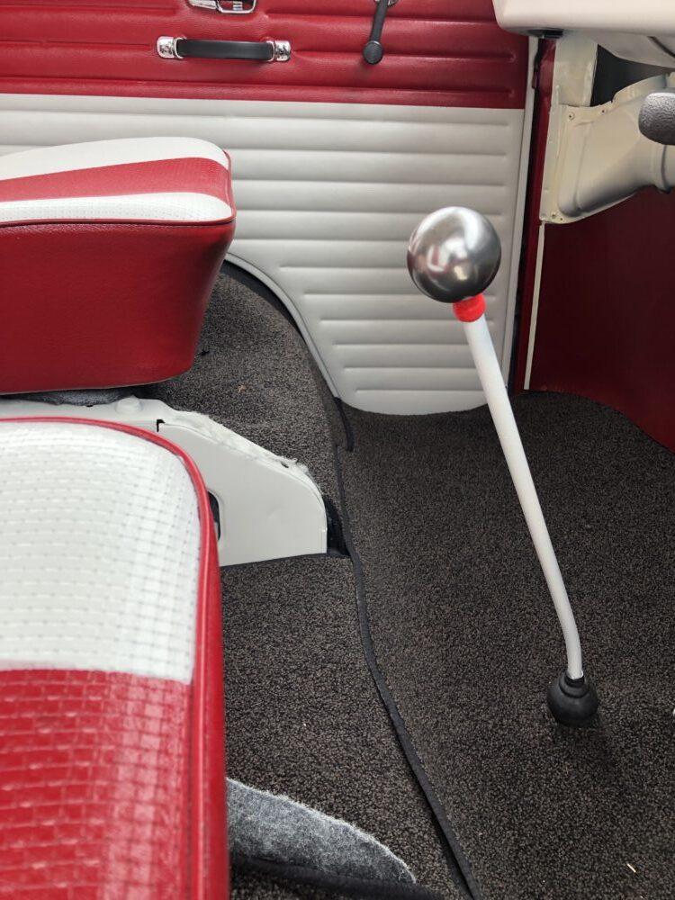 VW T2 Chrome gear knob added