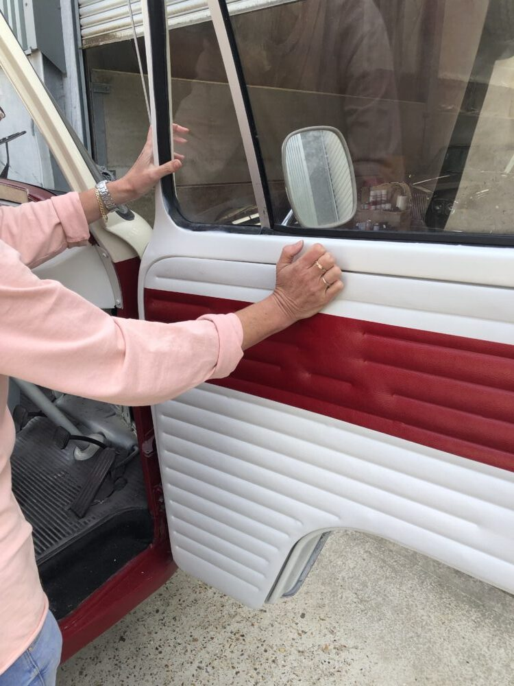 Vw T2 Fitting Door cards