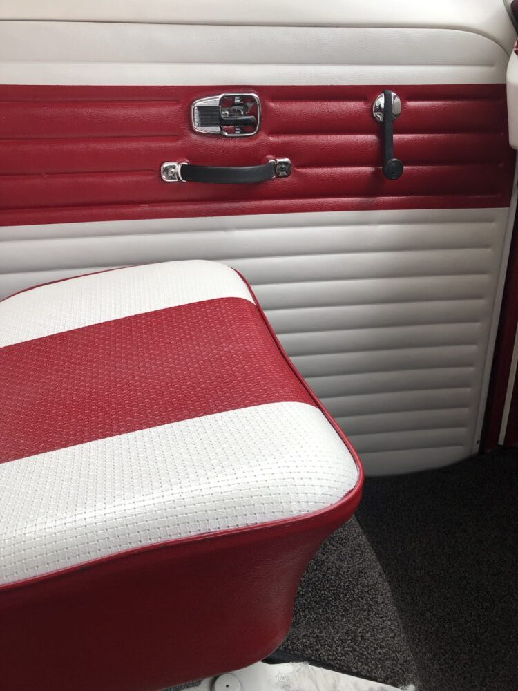 VW t2 adding chrome door handles etc