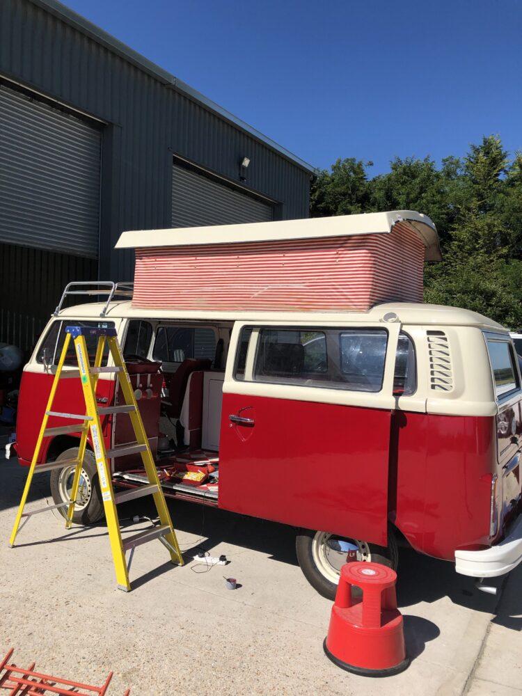 VW T2 camper roof rubber seal