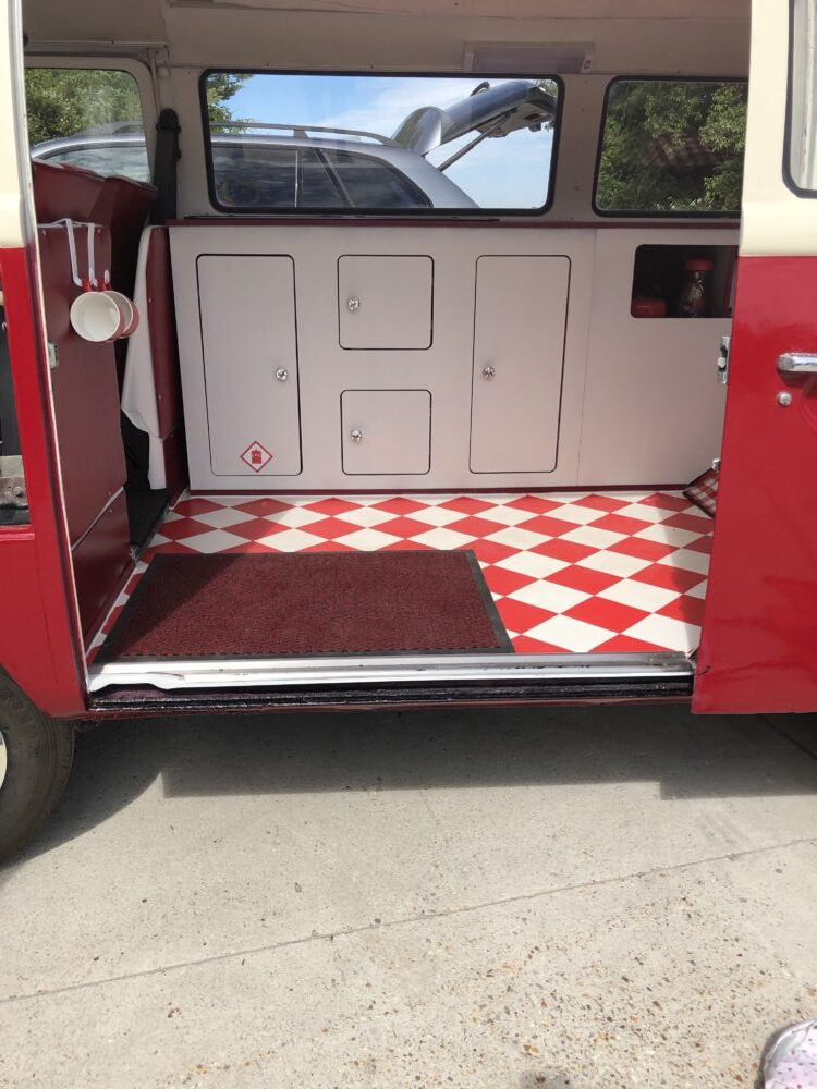 VW T2 Camper Door Slide