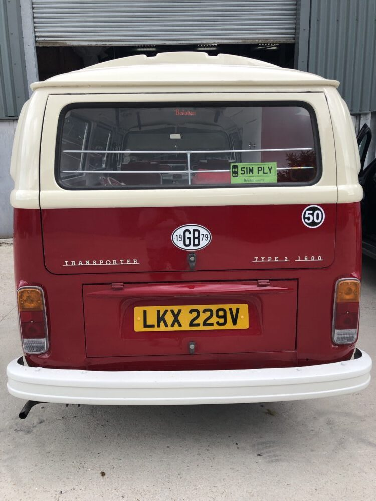 VW T2 camper jail bars fitted
