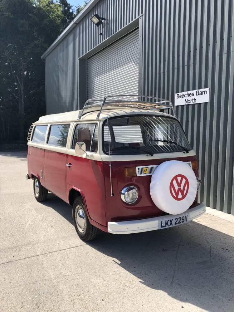 VW T2 Camper. AA Badge fitted
