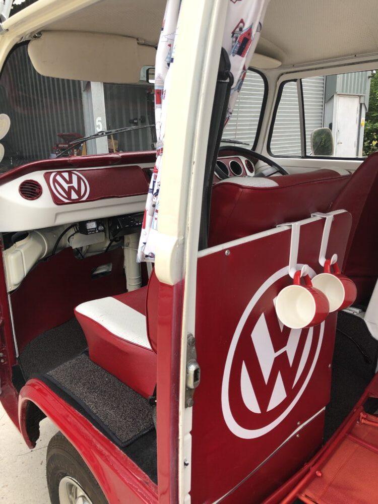 VW T2 Camper rear sticker