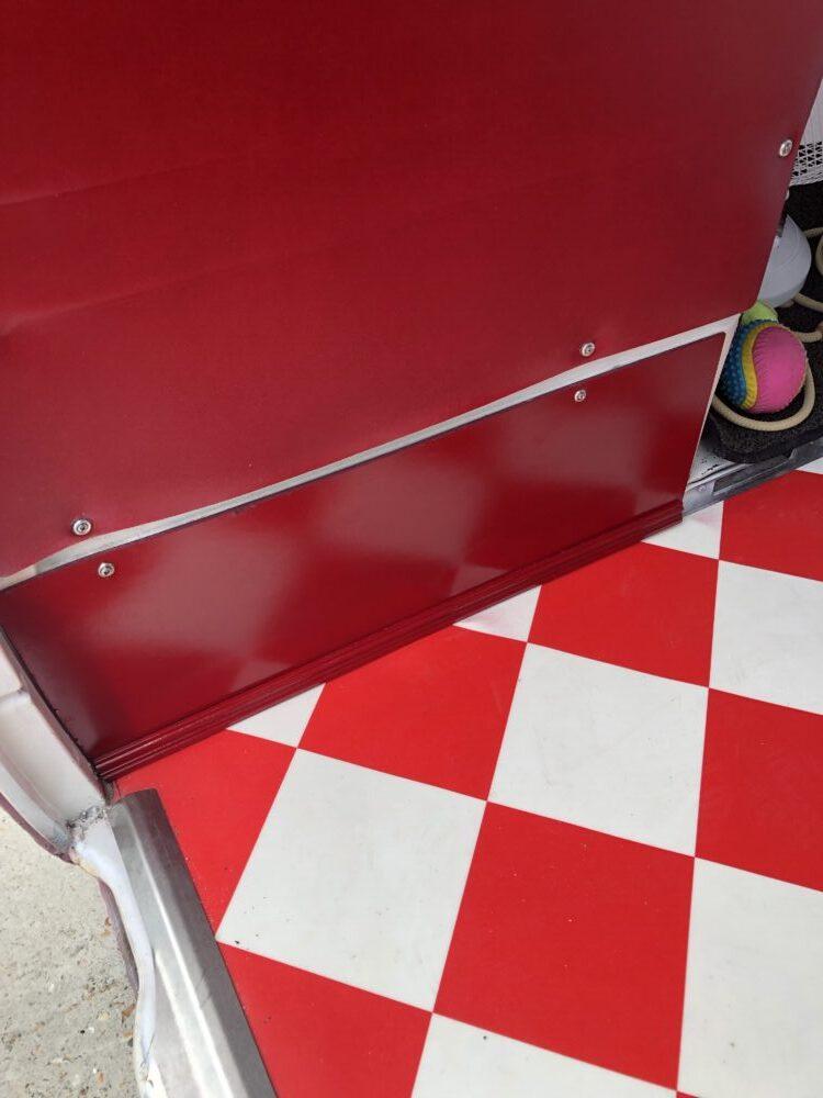 VW T2 Camper panelling