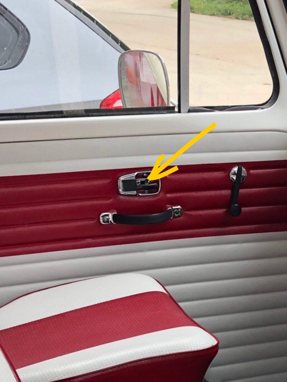 VW T2 door handle guards