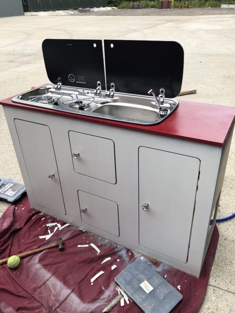 VW T2 camper cupboard door handles