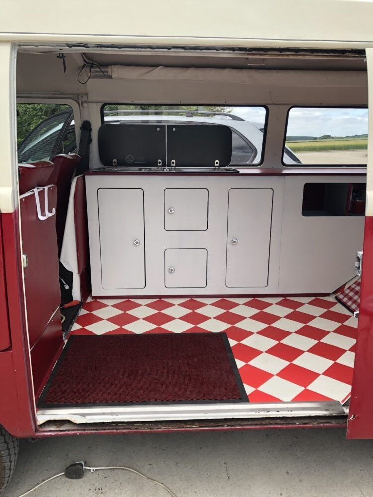 VW Camper T2 Makeover So far