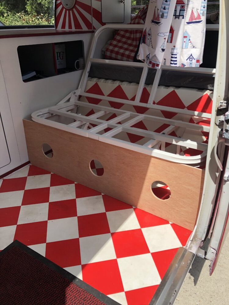 VW T2 Camper van Seat panel with speakers