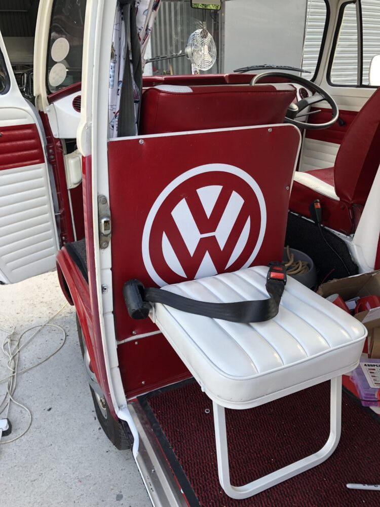 VW T2 camper foldable Bubby seat
